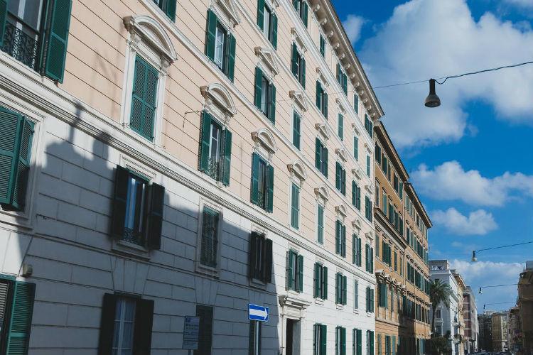 外国の建物